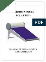 Manual Instalación Termotanques v1.5