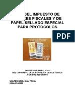 Ley de Timbres Fiscales y Su Reglamento y sus Reformas.