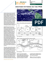 Weather Variations in the ITCZ Geofile