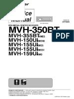 Pioneer MVH 350BT Service Manua