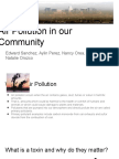 air pollution in our community  1