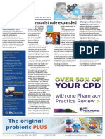 Pharmacy Daily for Wed 26 Apr 2017 - Pharmacist role expanded, Steve Waugh Apotex celebration, Child vaccination push, Health