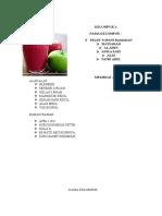 Bahan Dan Alat Membuat Jus Apel