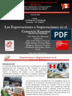 Exportaciones e Importaciones en el Perú