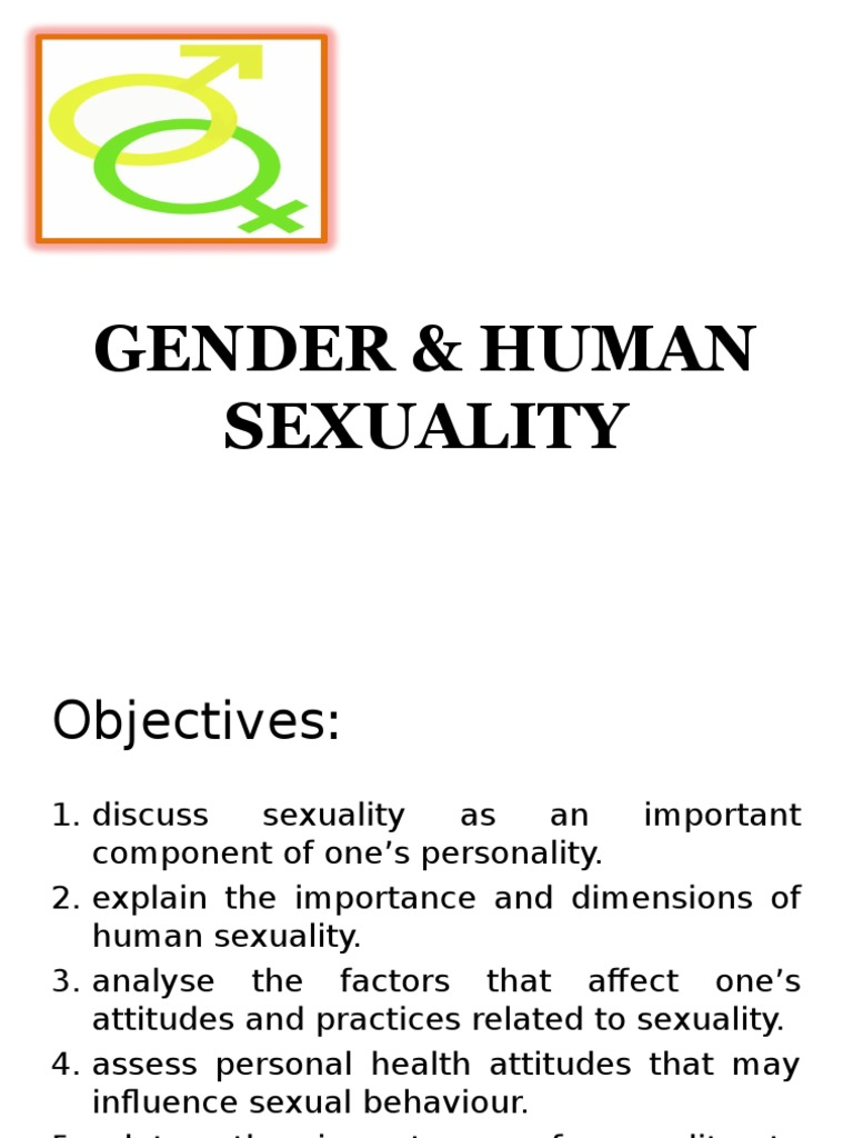 Human sexuality dimensions