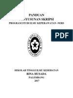Panduan Skripsi PSIKNERS(1)