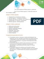Presentación Del Curso Politica Agraria Ambiental