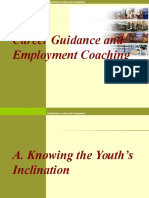 Career Guidance and Employment Coaching