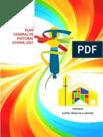 4. Plan General de Pastoral Juvenil 2017