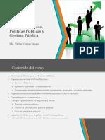 El Estado Peruano, Políticas Públicas y Gestión Pública