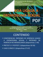 3 Herencia Ligado a Cromosoma Sexual y No Mendeliana