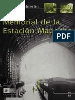 Alfonso Calderón - Memorial de La Estación Mapocho