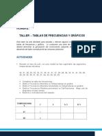 3. Taller Tablas de Frecuencias y Gráficos