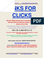 Mario Benedetti Links for Clicks Año i No 5a Abril 2017