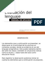 Evaluación Del Lenguaje-Comprension