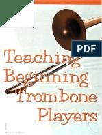 teaching beginning trombone pl