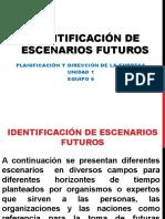 Identificación de Escenarios Futuros