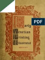 Early Venetian Printing 1842-1911