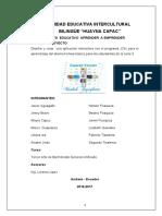 Proyecto Educativo Aprender a Emprenders