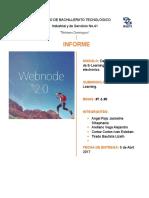 Informe-Webnode