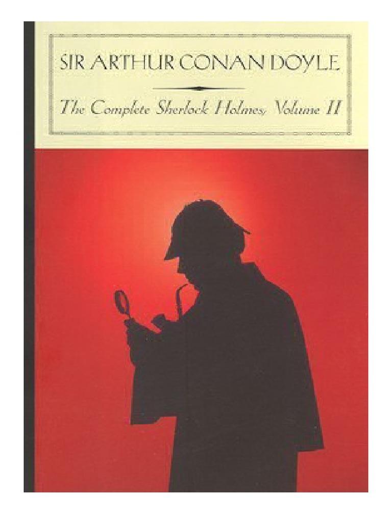 Complete Sherlock Holmes Epub