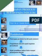 5. Penerapan Produksi Bersih Pada Industri