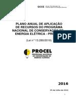 Plano de Aplicacao de Recursos Do Procel Final Gcce v1