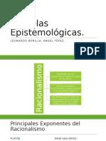 Escuelas epistemologicas