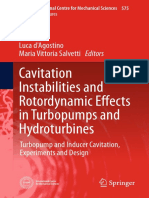 Cavitation Instabilities and Rotordynamic Effects in Turbopumps and Hydroturbines Turbopump and Inducer