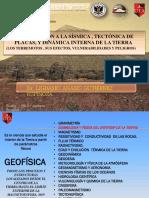 Presentación Sismica Tectonica Dr Ligdamis Gtz Seminario Ing Civil 1
