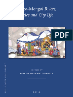 Turko-Mongol Rulers, Cities and City Life