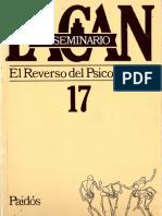 El Seminario 17. El Reverso Del Psicoanálisis