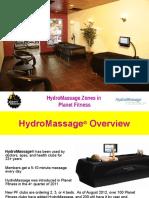 HydroMassage PlanetFit Presentation