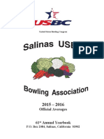 USBC Bowling Yearbook 4-17 Published