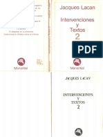 Intervenciones y Textos 2