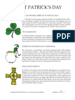 St Patricks Day History