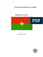 FAO Forage Profile - Burkina