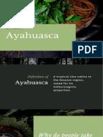 ayahuasca powerpoint