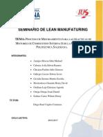 Proceso de Mejoramiento Para Las Practicas de Motores de Combustion Interna de La Universidad Politecnica Salesiana 1 1