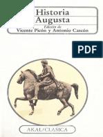Vicente Picón & Antonio Gascón, Historia Augusta.pdf