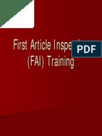 FAI Training Tool