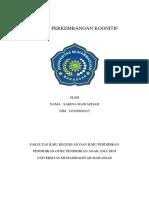JURNAL PERKEMBANGAN KOGNITIF