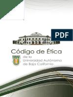 Código de Ética Universitario 2016