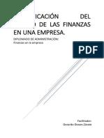 Identificación Del Estado de Finanzas de Una Empresa