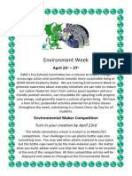 environment week