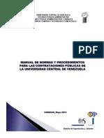 1era Parte Manual de Normas y Procedimientos Contrataciones Publicas