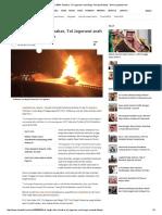 Truk Tangki BBM Terbakar, Tol Jagorawi Arah Bogor Sempat Ditutup - News Liputan6