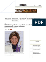 Gloria Allred Under California State Bar Investigation