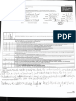 mentor evaluation 2