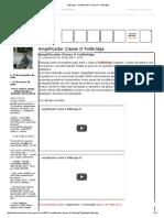 Fullbridge - Amplificador Classe D Fullbridge